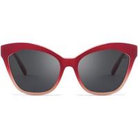 Zegarki & Biżuteria  okulary przeciwsłoneczne Hanukeii Laguna Czerwony