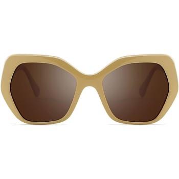 Zegarki & Biżuteria  okulary przeciwsłoneczne Hanukeii SoMa Brązowy