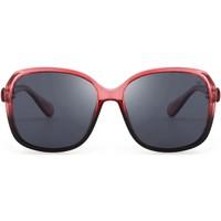 Zegarki & Biżuteria  okulary przeciwsłoneczne Hanukeii Village Czerwony