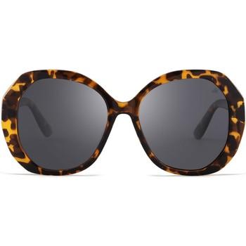 Zegarki & Biżuteria  okulary przeciwsłoneczne Hanukeii Lombard Brązowy