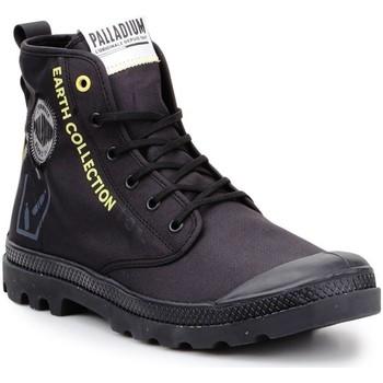 Buty Trampki wysokie Palladium Pampa 77054-008-M czarny, żółty