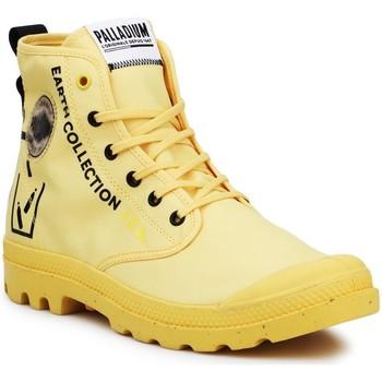 Buty Trampki wysokie Palladium Pampa 77054-713-M czarny, żółty