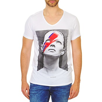 tekstylia Męskie T-shirty z krótkim rękawem Eleven Paris KATOS Biały