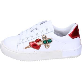 Buty Dziewczynka Trampki niskie Holalà BH12 Biały