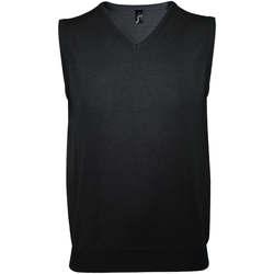 tekstylia Męskie Kamizelki garniturowe   Sols GENTLEMEN Negro Negro