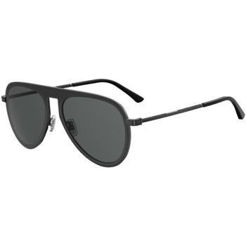 Zegarki & Biżuteria  Męskie okulary przeciwsłoneczne Jimmy Choo  Czarny