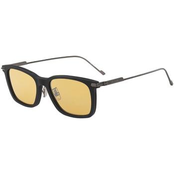 Zegarki & Biżuteria  Męskie okulary przeciwsłoneczne Jimmy Choo  Żółty