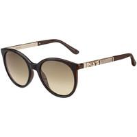 Zegarki & Biżuteria  Damskie okulary przeciwsłoneczne Jimmy Choo  Brązowy