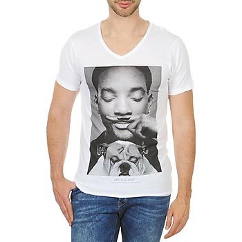 tekstylia Męskie T-shirty z krótkim rękawem Eleven Paris WOLY M Biały