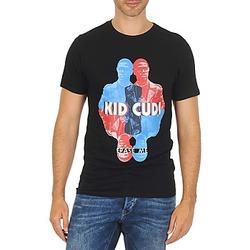 tekstylia Męskie T-shirty z krótkim rękawem Eleven Paris KIDC M Czarny