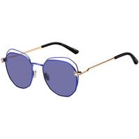 Zegarki & Biżuteria  Damskie okulary przeciwsłoneczne Jimmy Choo  Fioletowy