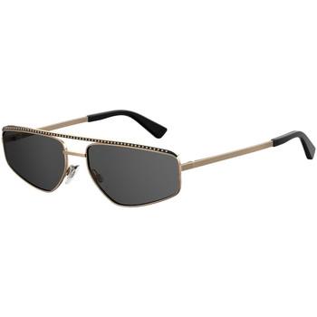 Zegarki & Biżuteria  Damskie okulary przeciwsłoneczne Love Moschino  Złoty
