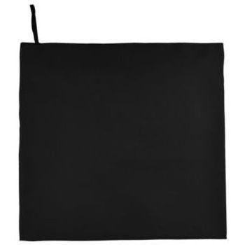Dom Ręcznik i rękawica kąpielowa Sols ATOLL 100 Negro Negro