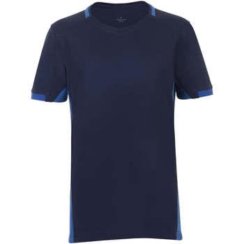 tekstylia Chłopiec T-shirty z krótkim rękawem Sols CLASSICO KIDS Azul Marino Azul