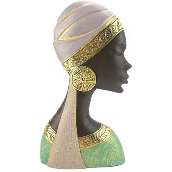 Dom Statuetki i figurki  Signes Grimalt Głowa Kobiety Negro