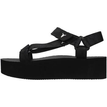 Buty Damskie Sandały Windsor Smith PEEPED Czarny