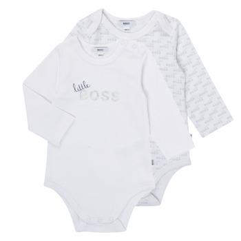tekstylia Chłopiec Piżama / koszula nocna BOSS SEPTINA Biały