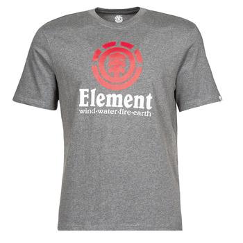 tekstylia Męskie T-shirty z krótkim rękawem Element VERTICAL SS Szary