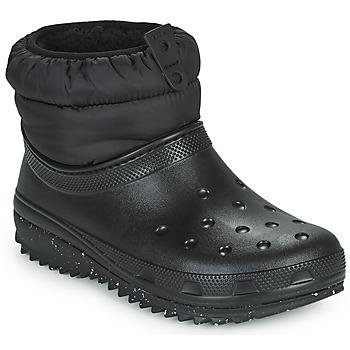 Buty Damskie Śniegowce Crocs CLASSIC NEO PUFF SHORTY BOOT W Czarny