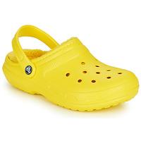 Buty Chodaki Crocs CLASSIC LINED CLOG Żółty
