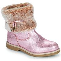 Buty Dziewczynka Buty za kostkę Citrouille et Compagnie PAKRETTE Różowy / Irisé
