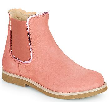 Buty Dziewczynka Buty za kostkę Citrouille et Compagnie PRAIRIE Różowy