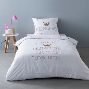 Dom Komplet pościeli Mylittleplace SLEEPY PRINCESS Biały