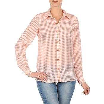 tekstylia Damskie Koszule Manoush CHEMISE ML ALIZE Różowy