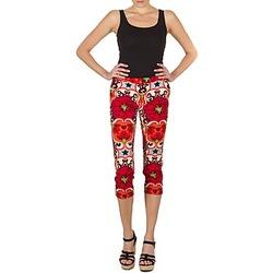tekstylia Damskie Krótkie spodnie Manoush PANTALON POPPY Czerwony