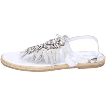 Buty Dziewczynka Sandały Holalà BH20 Biały