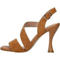 Buty Damskie Sandały Luciano Barachini GL263R Beżowy