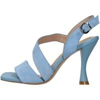 Buty Damskie Sandały Luciano Barachini GL236A Niebieski