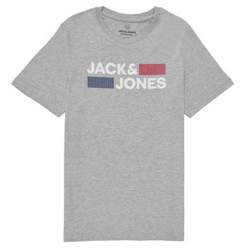 tekstylia Chłopiec T-shirty z krótkim rękawem Jack & Jones JJECORP LOGO TEE SS Szary