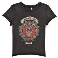 tekstylia Dziewczynka T-shirty z krótkim rękawem Only KONLUCY Czarny