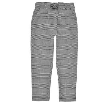 tekstylia Dziewczynka Spodnie z lejącej tkaniny / Alladynki Only KONPOPTRASH Szary