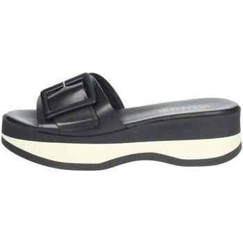 Buty Damskie Klapki Repo 62114-E1 'Czarny/'Biały