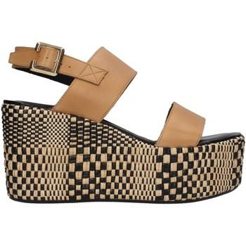 Buty Damskie Sandały Paola Ferri D7421 Brązowy