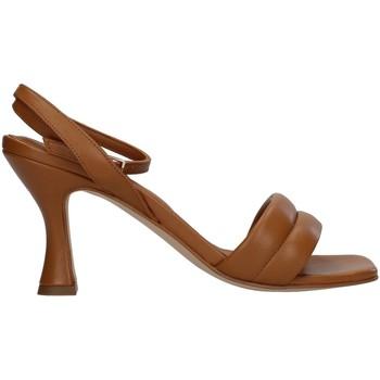Buty Damskie Sandały Paola Ferri D7439 Brązowy