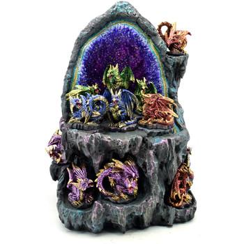 Dom Statuetki i figurki  Signes Grimalt Wyświetlacz Z 12 Dragons 12U Azul