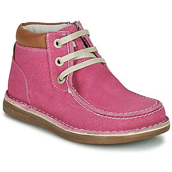 Buty Dziewczynka Buty za kostkę Birkenstock PASADENA HIGH KIDS Różowy