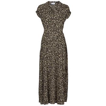 tekstylia Damskie Sukienki długie Betty London PARILLA Czarny / Wielokolorowy