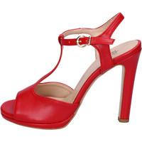 Buty Damskie Sandały Moga' BH70 Czerwony