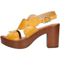 Buty Damskie Sandały Made In Italia 023 Żółty