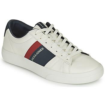 Buty Chłopiec Trampki niskie Jack & Jones MISTRY Biały