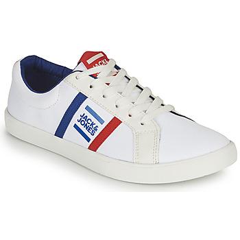 Buty Chłopiec Trampki niskie Jack & Jones WHILEY Biały