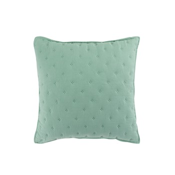 Dom Poszewki na poduszki Douceur d intérieur MELLOW CHIC Mint / Biały