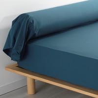 Dom Poszewka na poduszkę, poduszka wałek Douceur d intérieur PERCALINE Niebieski