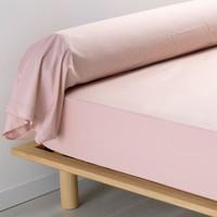 Dom Poszewka na poduszkę, poduszka wałek Douceur d intérieur PERCALINE Różowy