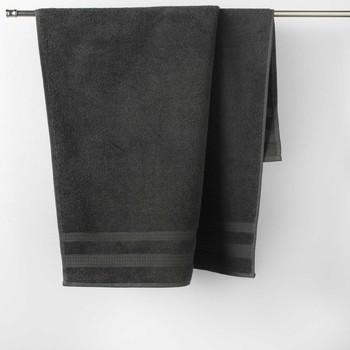Dom Ręcznik i rękawica kąpielowa Douceur d intérieur EXCELLENCE Antracyt