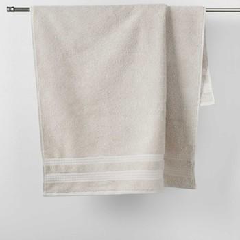 Dom Ręcznik i rękawica kąpielowa Douceur d intérieur EXCELLENCE Len